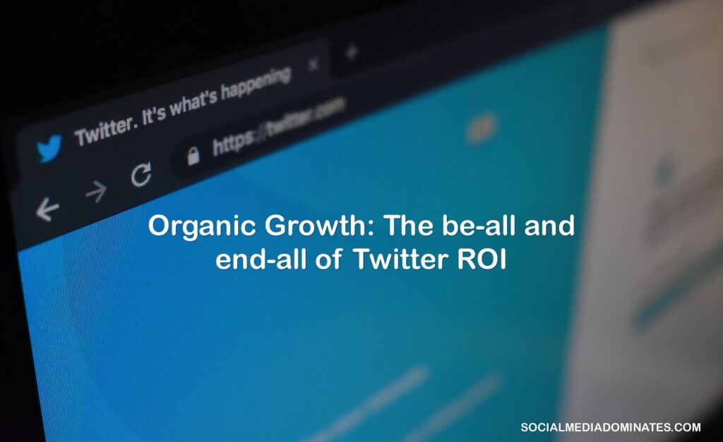Twitter organic growth- cover