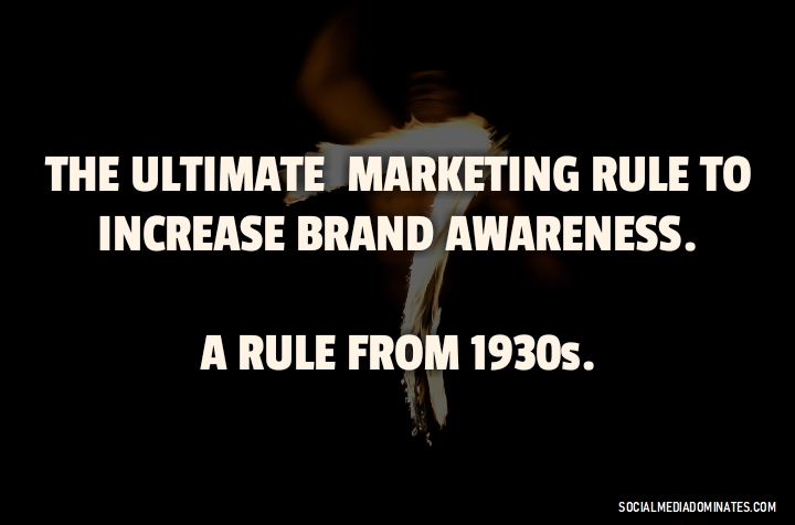 The rule of seven- The Ultimate marketing rule - Cover