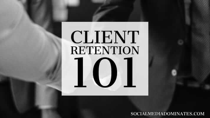 How to retain client- Cover image